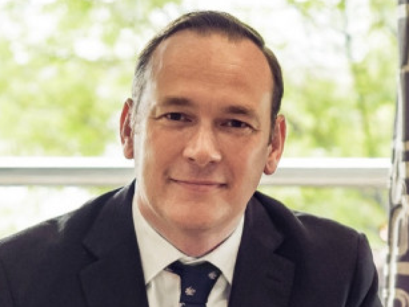 Richard Brooks, New Head of QEGS